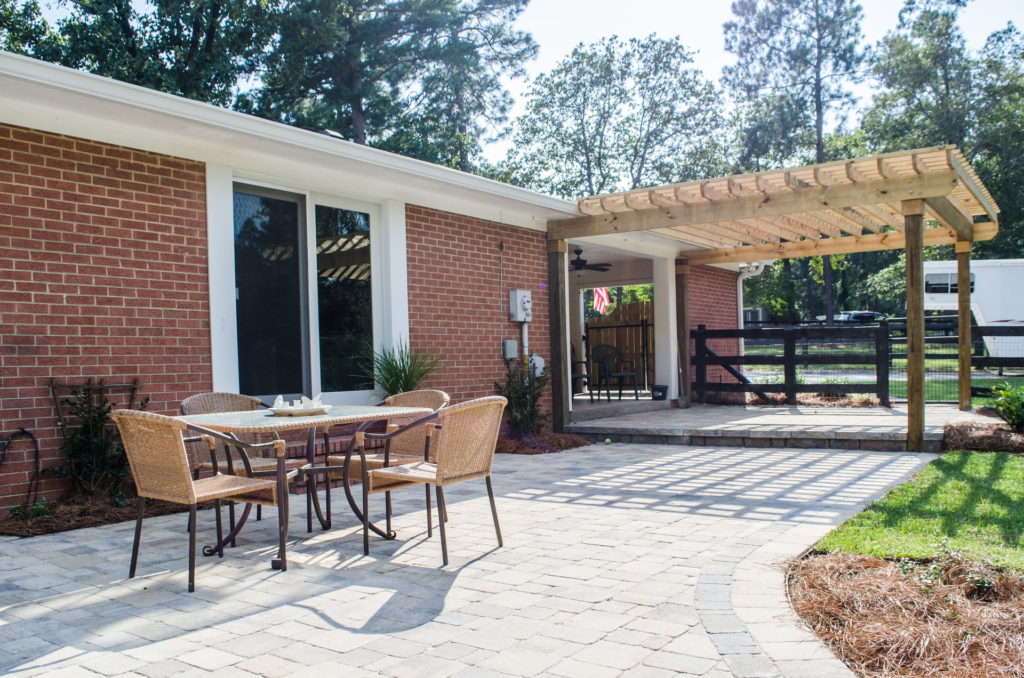 Amazing Pergola and Patio Combination at Augusta, GA Home 3