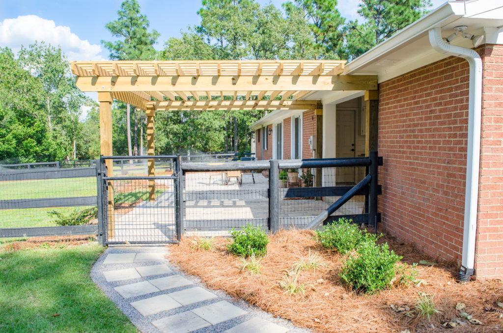 Amazing Pergola and Patio Combination at Augusta, GA Home 6