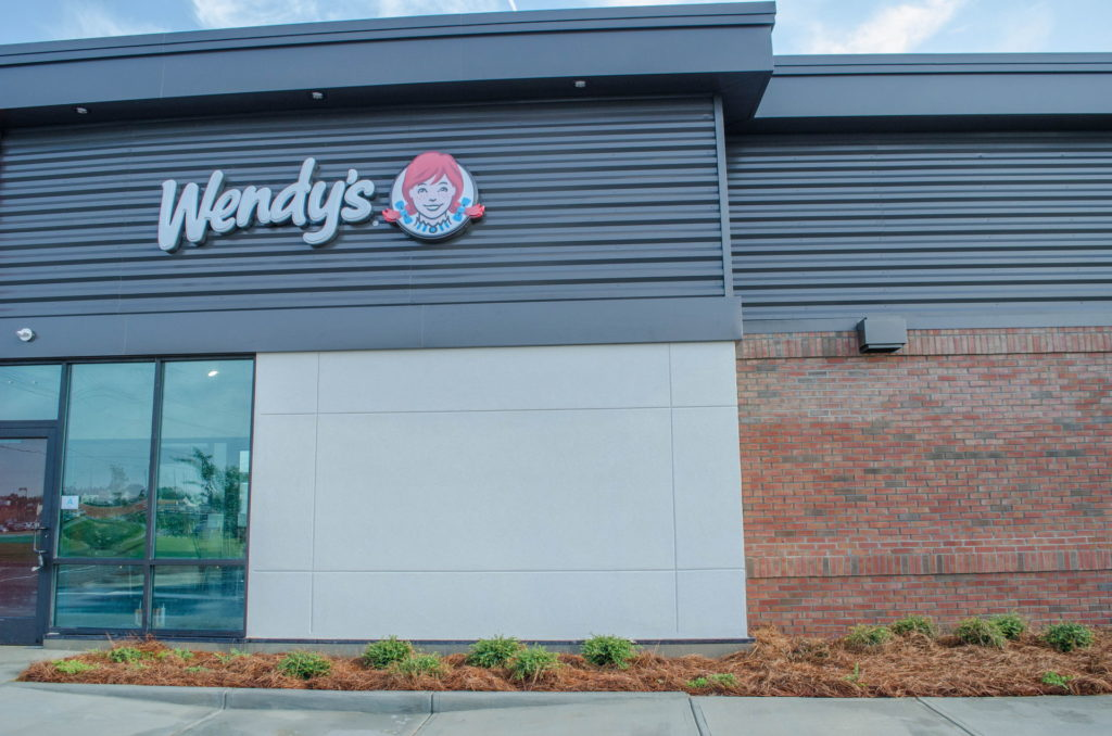 North Augusta, SC Wendy's Franchise Landscaping Project 10