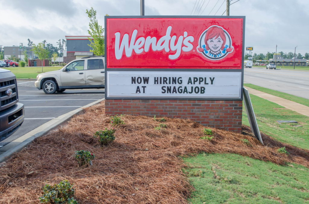 North Augusta, SC Wendy's Franchise Landscaping Project 12