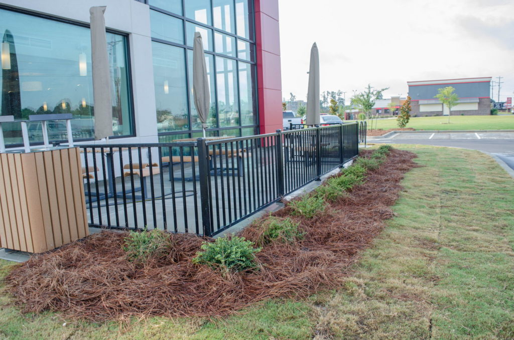 North Augusta, SC Wendy's Franchise Landscaping Project 14