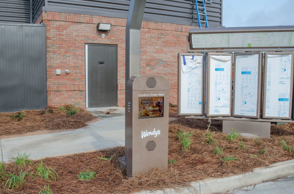 North Augusta, SC Wendy's Franchise Landscaping Project 6