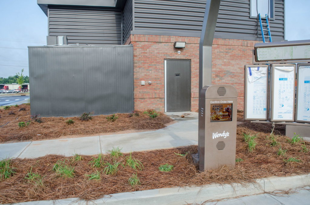 North Augusta, SC Wendy's Franchise Landscaping Project 7