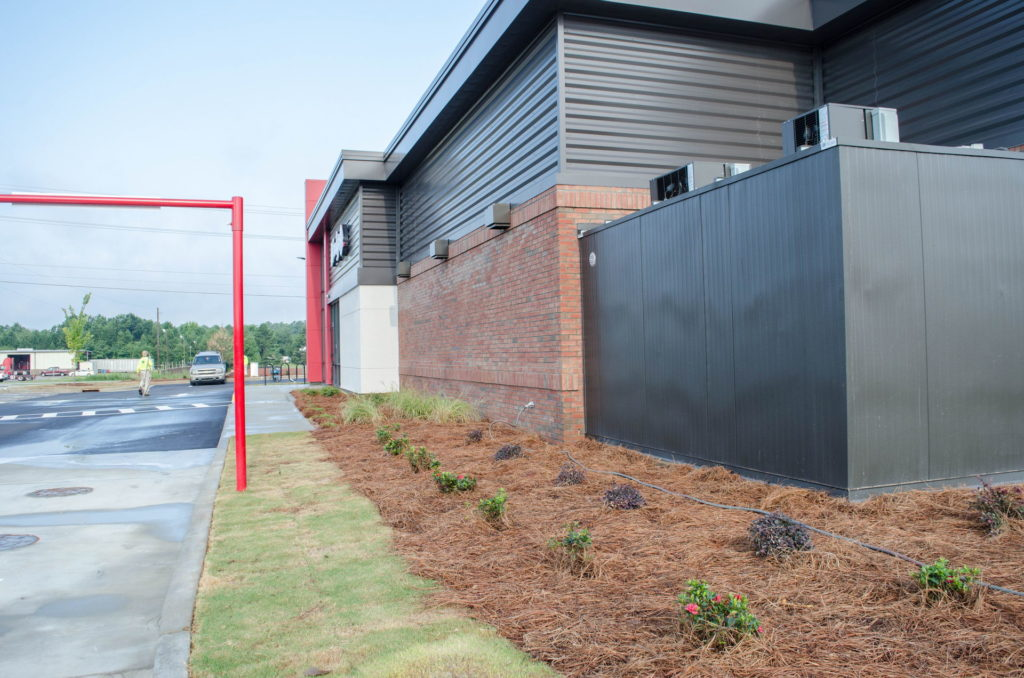 North Augusta, SC Wendy's Franchise Landscaping Project 8