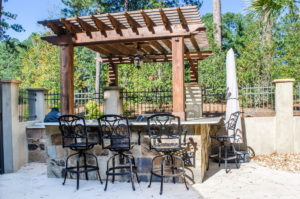 Outdoor Living Space Gazebo in Bluffton, SC